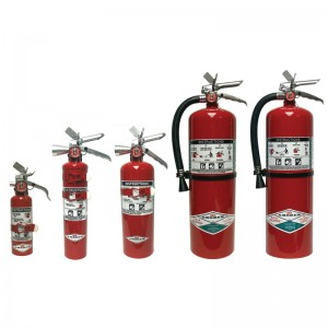 Halotron I 'Clean Agent' Extinguishers